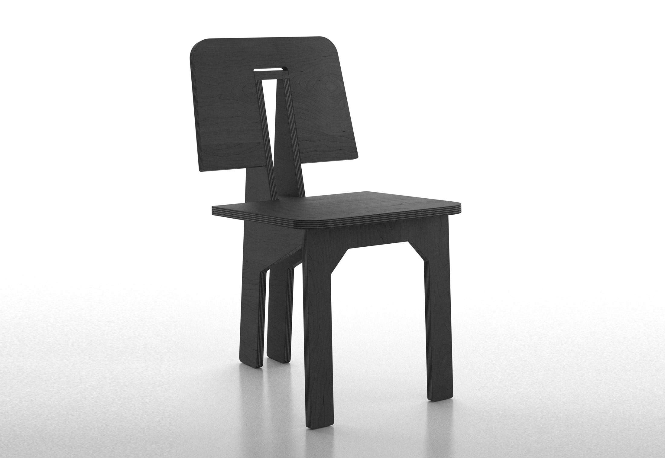 Bon One Side Chair; One Side Chair ...