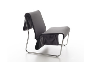 Farallon lounge chair with pocket  by  Danese