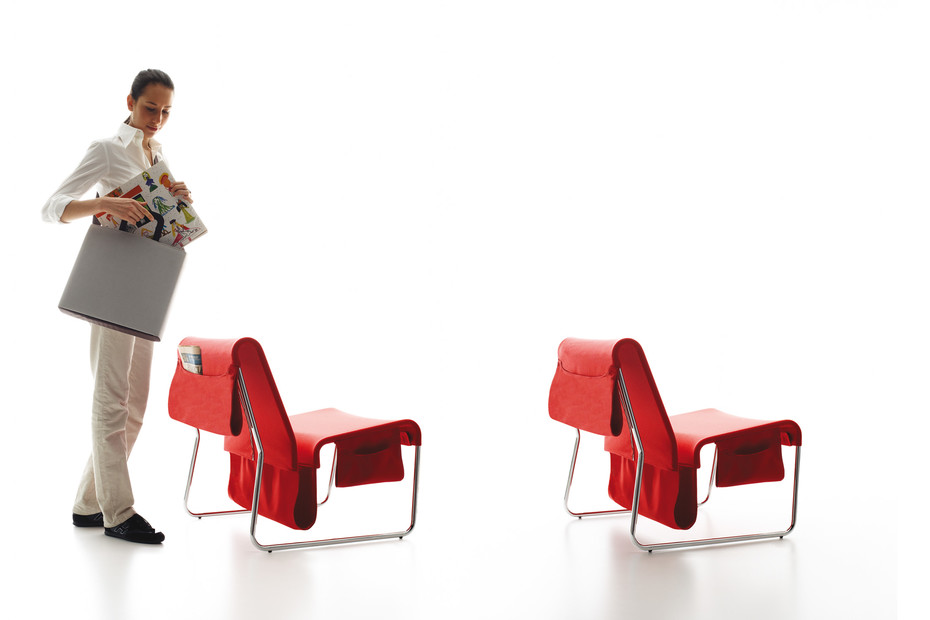 Farallon lounge chair with pocket