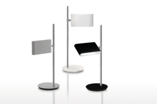 Two Flags table lamp  by  Danese
