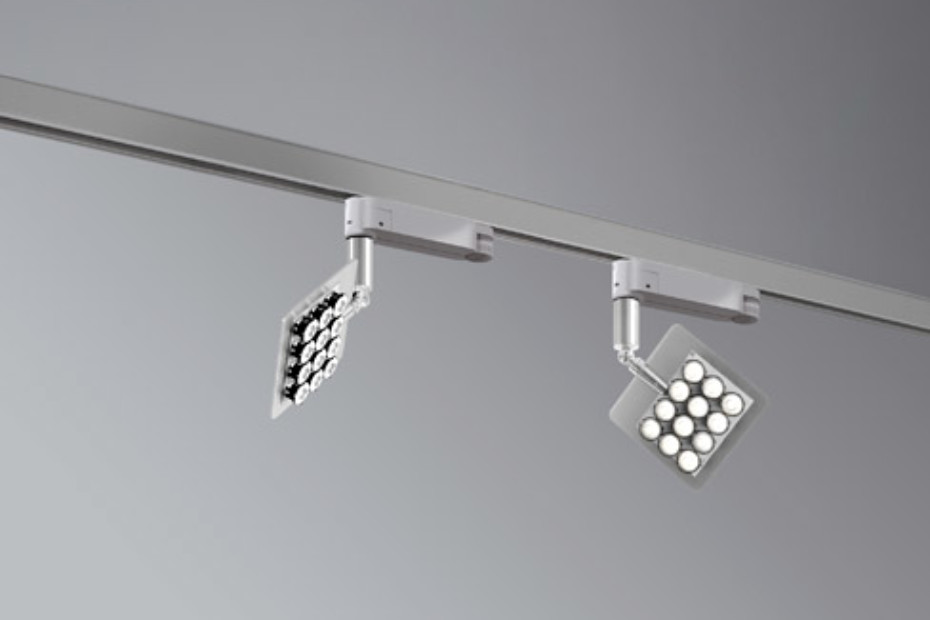 Una Pro mounted ceiling light, swiveling