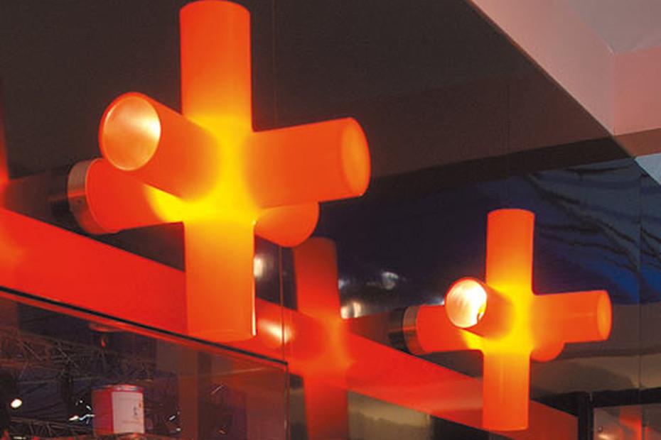 Crosslight Wall