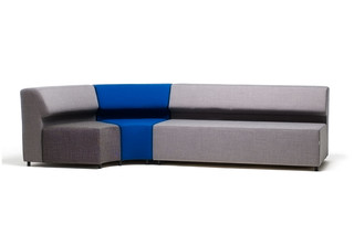 One sofa round  by  David design
