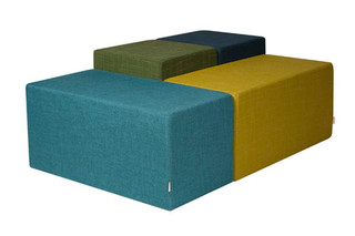 Rowdy Pouf  by  David design