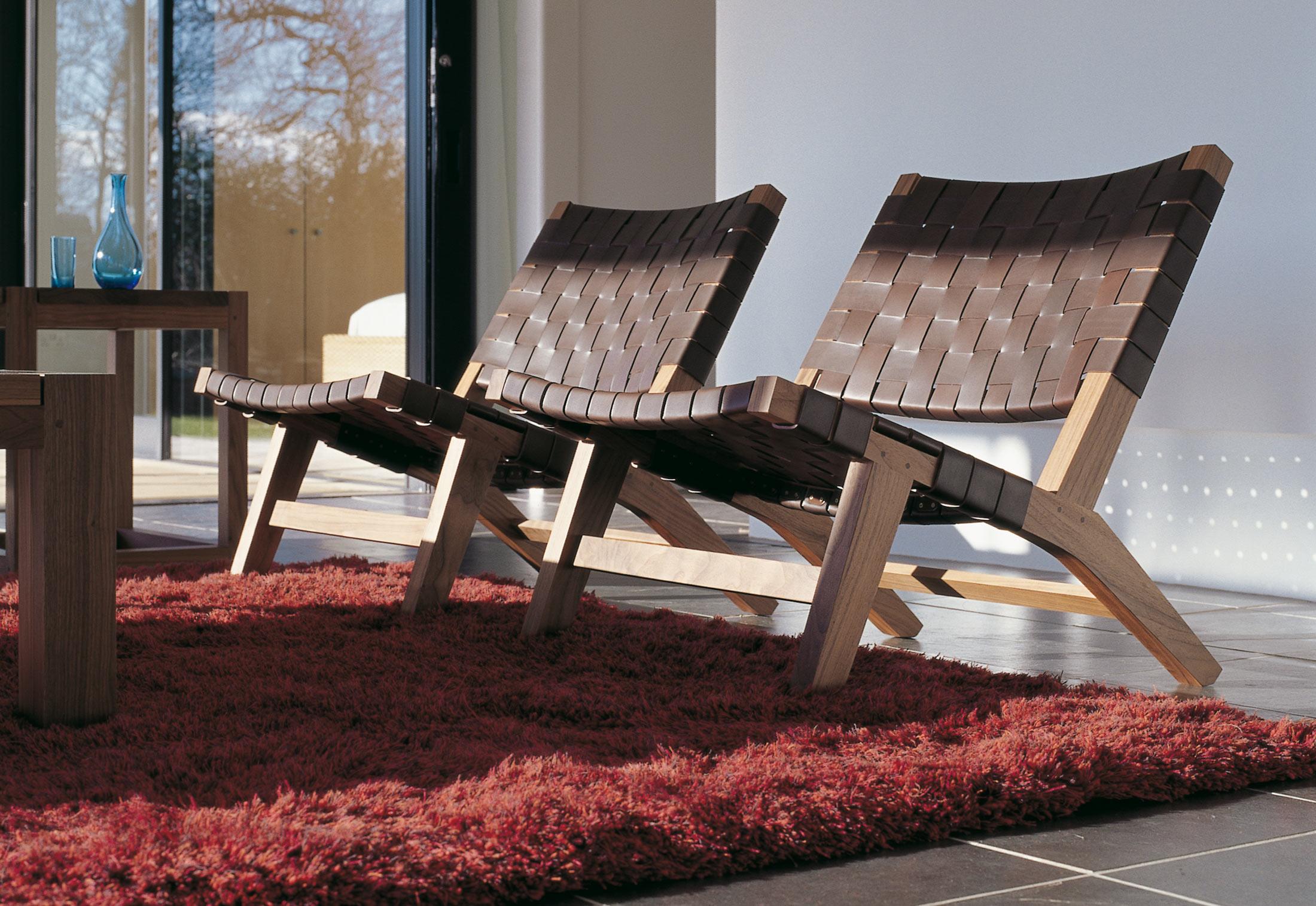 128 Lounge Chair By De La Espada Stylepark