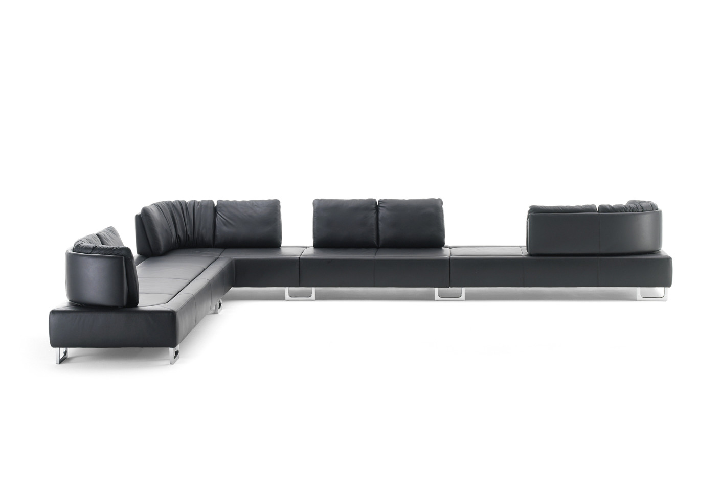 ds 165 corner sofa by de sede stylepark. Black Bedroom Furniture Sets. Home Design Ideas