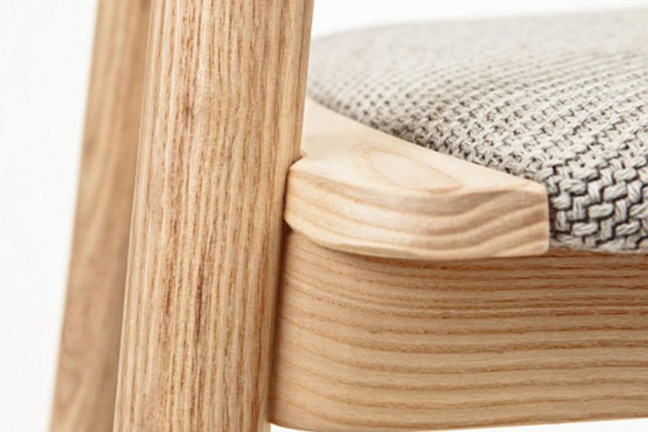 Clip upholstered