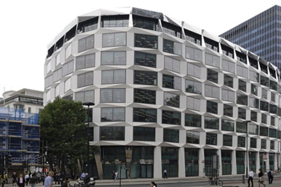 Polierte Betonfertigteile, One Coleman Street, London