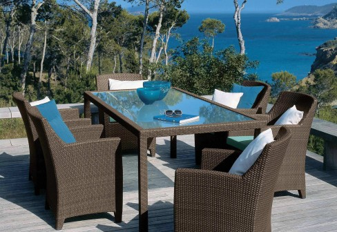 Barcelona armchair by dedon stylepark for Dedon outdoor furniture