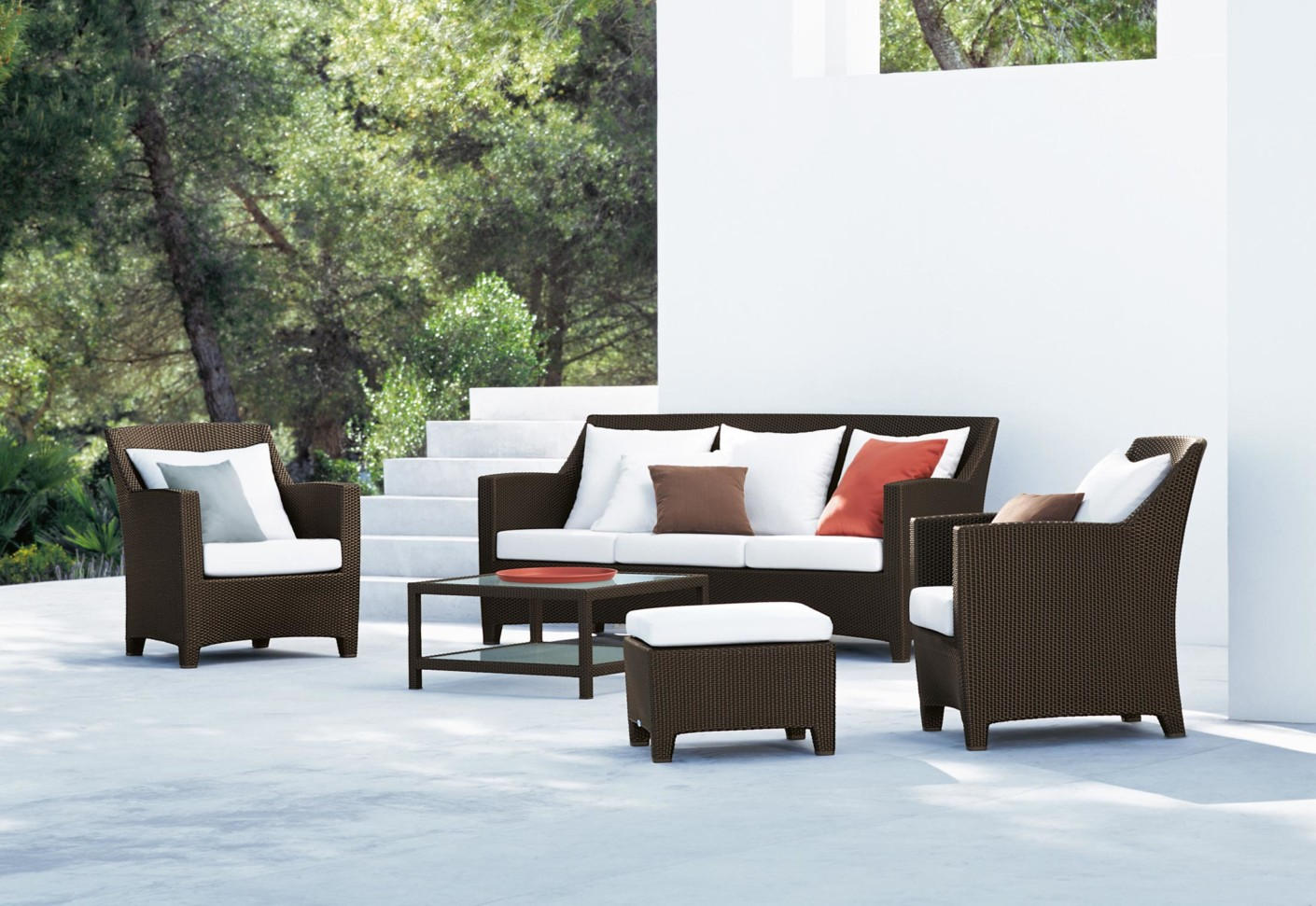 Barcelona lounge chair by dedon stylepark for Dedon outdoor furniture