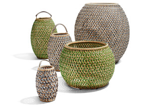 DALA planter & lantern  by  DEDON