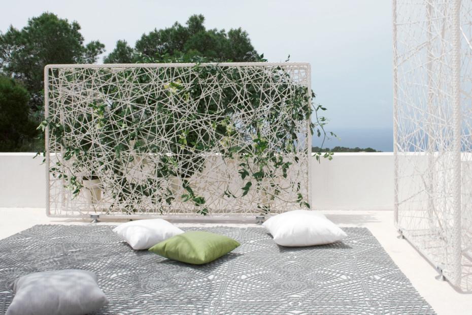GREEN wall horizontal incl. ceramic pots