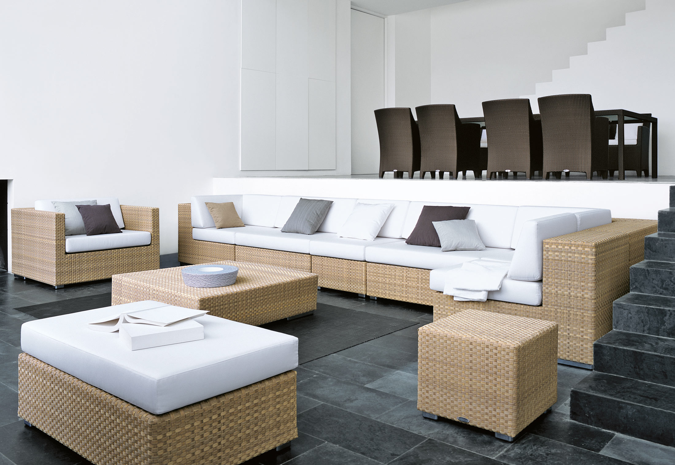 lounge lounge chair by dedon stylepark. Black Bedroom Furniture Sets. Home Design Ideas