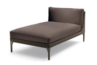 MU chaise longue  by  DEDON