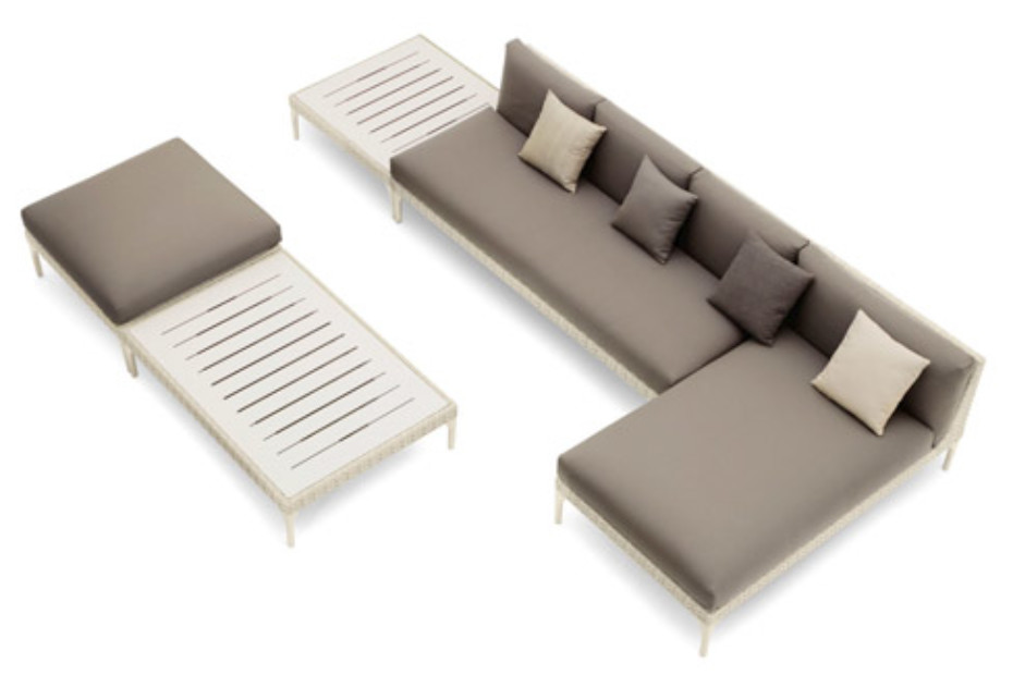 Mu chaise longue by dedon stylepark for Chaise longue manufacturers