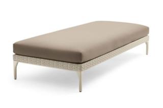 MU footstool  by  DEDON