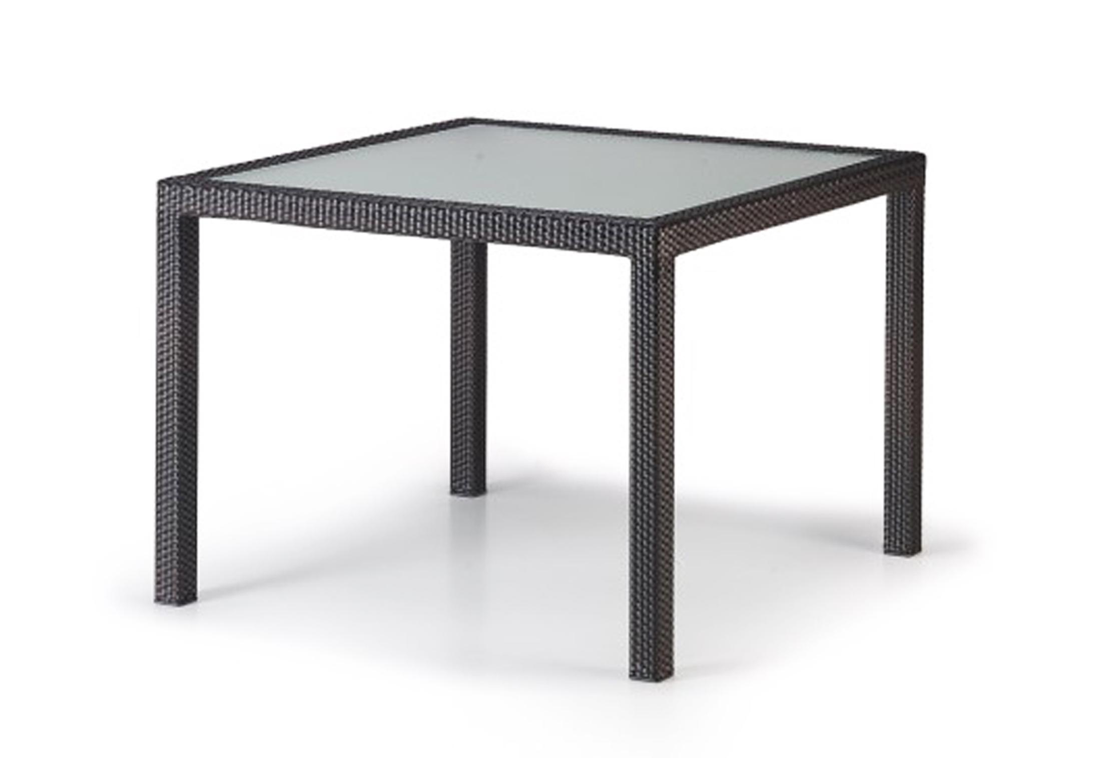 panama esstisch 100x100 von dedon stylepark. Black Bedroom Furniture Sets. Home Design Ideas