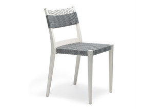 PLAY side chair braided  by  DEDON
