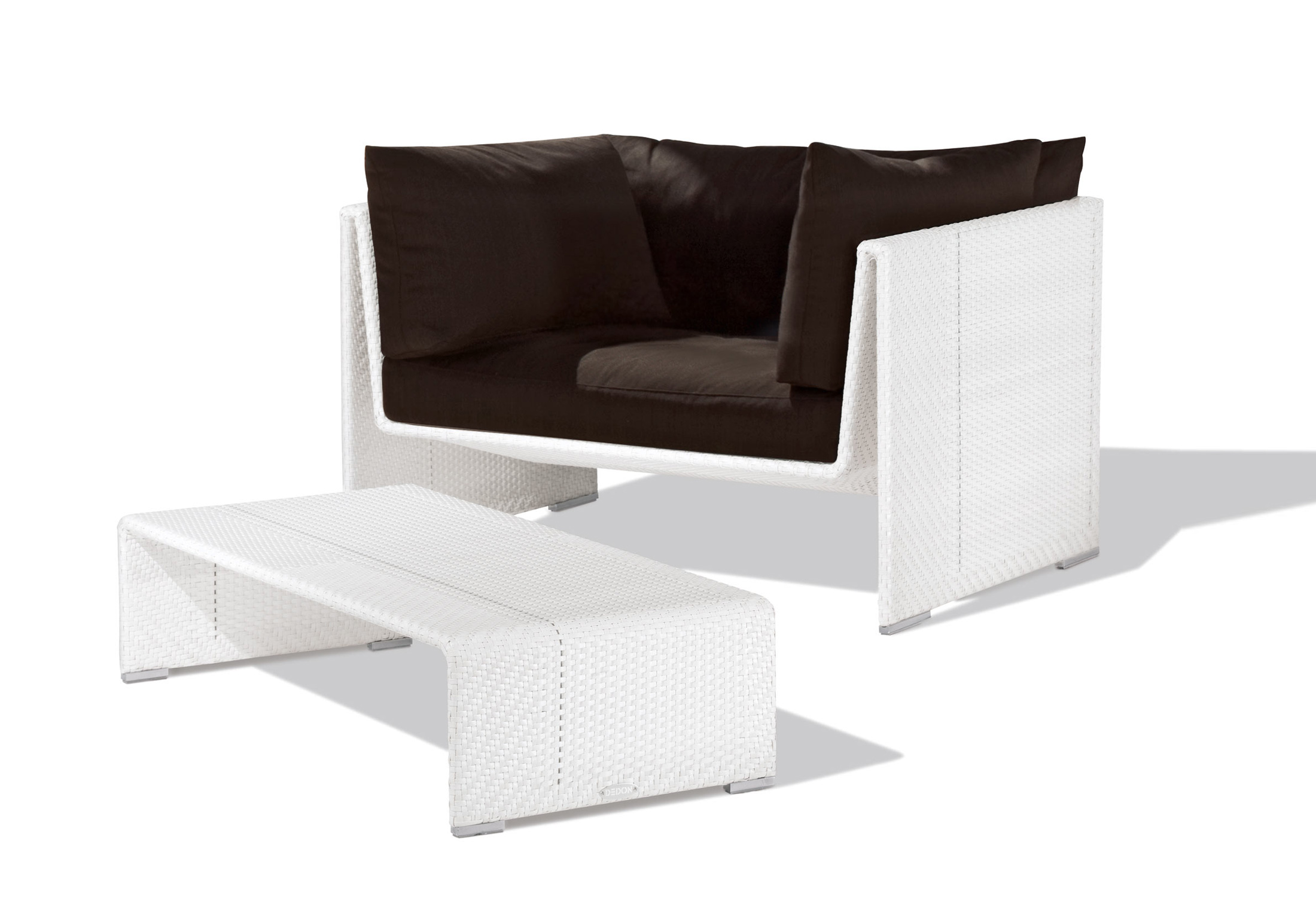 Superb Slime Line Lounge Chair By Dedon Stylepark Machost Co Dining Chair Design Ideas Machostcouk