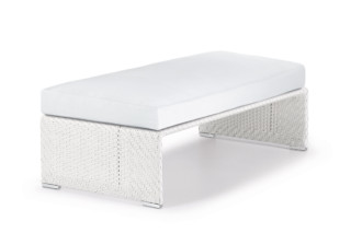 SLIMLINE footstool  by  DEDON