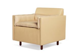CB-561 Salon Club Chair leather  by  BassamFellows