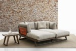 GIO Outdoor chaise longue  by  B&B Italia