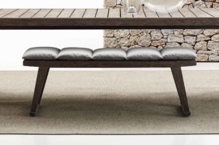 GIO Outdoor ottoman  by  B&B Italia