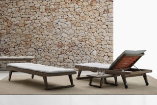 GIO Outdoor sunbed  by  B&B Italia