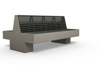COMFONY 800 double bench  by  Benkert Bänke