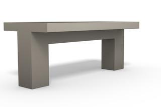 COMFONY 800 Tisch  von  Benkert Bänke