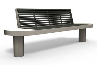 COMFONY 90 bench  by  Benkert Bänke