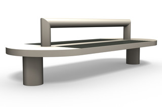 COMFONY 90 double bench  by  Benkert Bänke