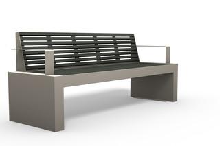 COMFONY bench wirh armrests  by  Benkert Bänke