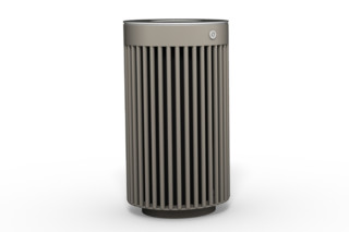 -Litter bin 110 with and without ashtray  by  Benkert Bänke