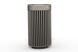Abfallbehälter 110 mit und ohne Ascher  von  Benkert Bänke
