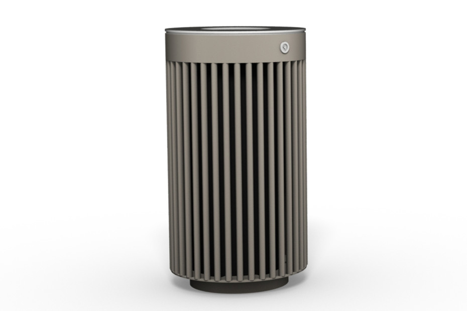 -Litter bin 110 with and without ashtray