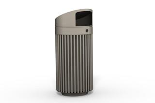 Abfallbehälter 110 mit Überdachung  von  Benkert Bänke