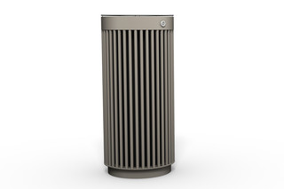 Litter bin 120 with and without ashtray  by  Benkert Bänke