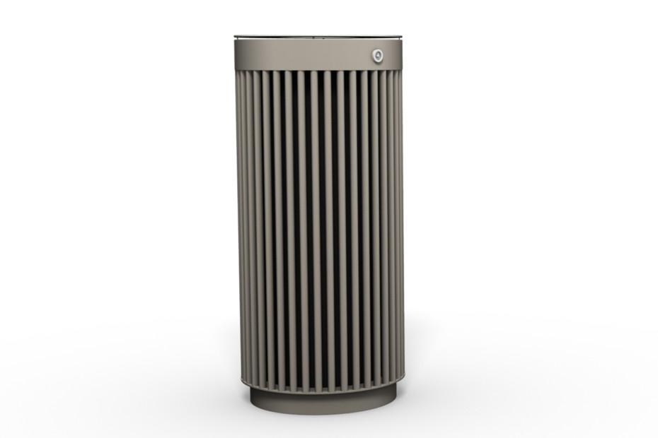 Abfallbehälter 120 mit und ohne Ascher