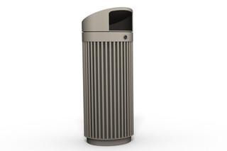 Abfallbehälter 120 mit Überdachung  von  Benkert Bänke