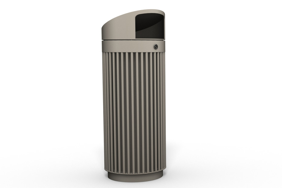 Litter bin 120 with roof top