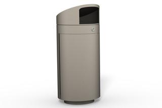 Abfallbehälter 210 mit Überdachung  von  Benkert Bänke