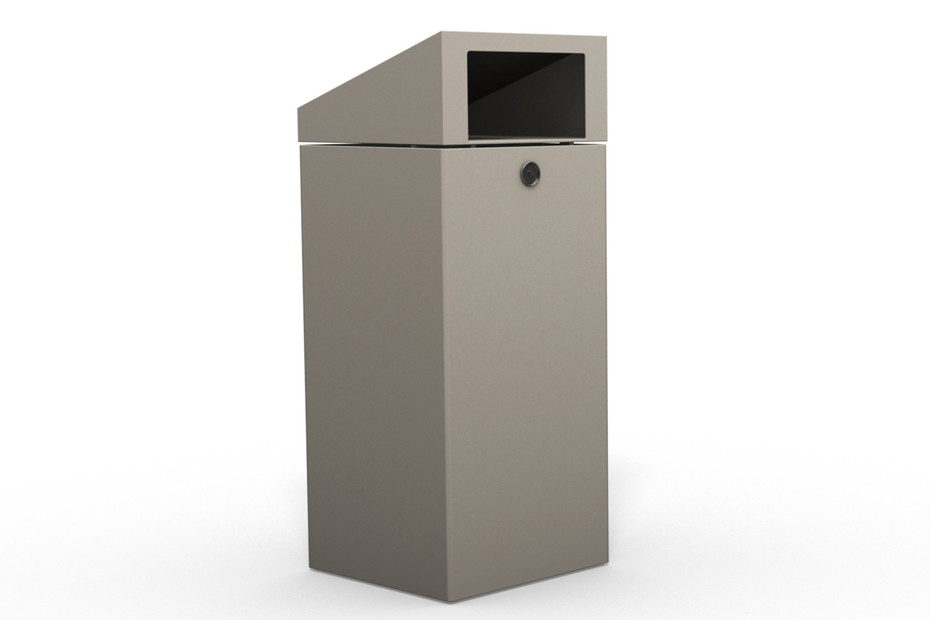 Litter bin 710 with roof top