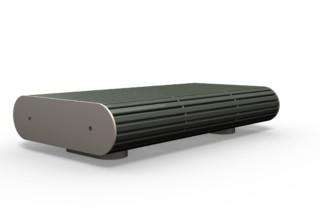 ONTIGO 100 double stool bench  by  Benkert Bänke