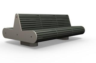 ONTIGO 300 double bench  by  Benkert Bänke