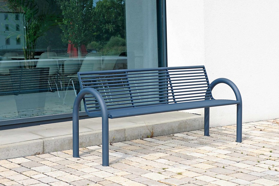 SIARDO 150R bench with armrests