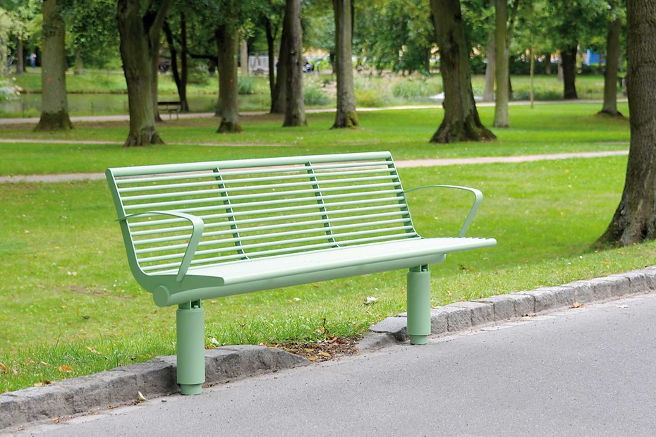 SIARDO 400R bench with armrests