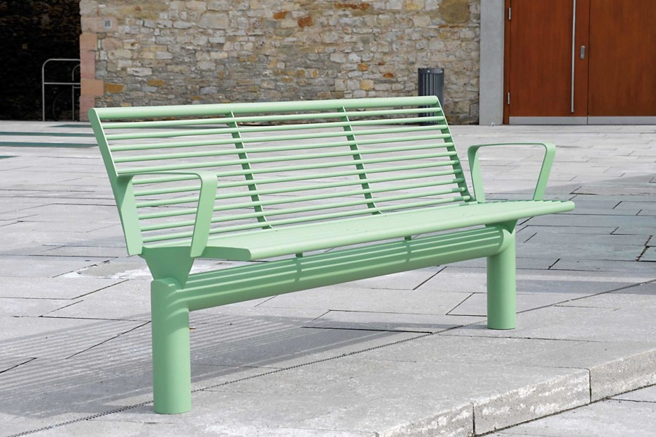 SIARDO L40 R bench with armrests