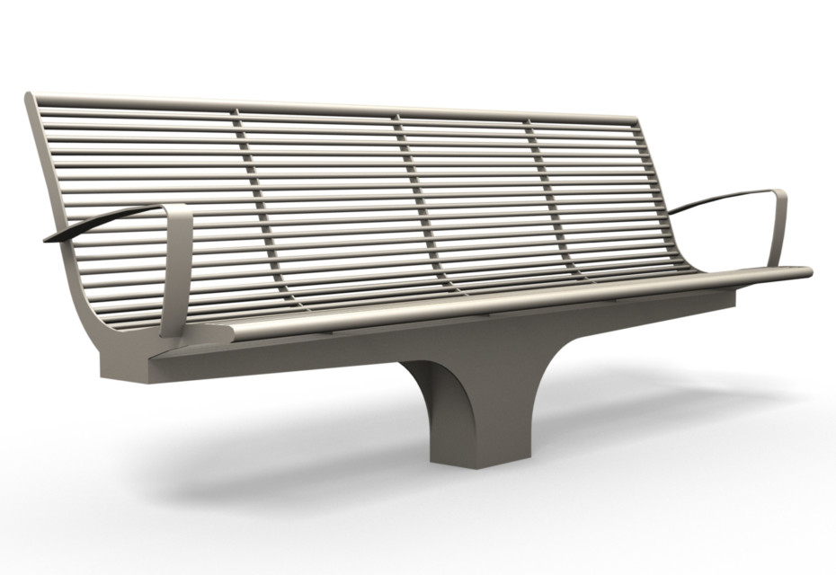 SIARDO S20 R bench with armrests