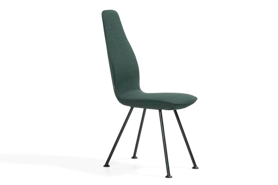 Poppe with low backrest